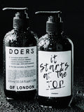 Doers of London Shampoo 300ml bottle front and back