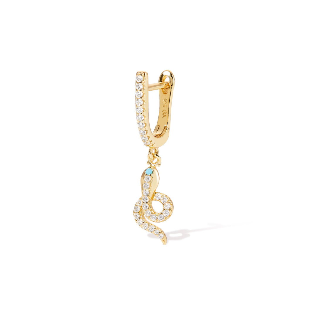 HANGING ASP YELLOW GOLD VERMEIL