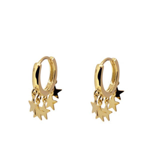 STAR FALL YELLOW GOLD VERMEIL