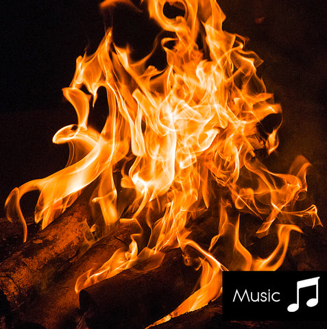 Campfire - Nature Sounds with music