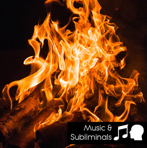 Campfire - Nature Sounds with music and subliminals
