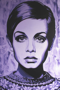 Twiggy in Purple