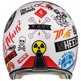 MT Le Mans 2 SV Anarchy A0 Gloss Helmet