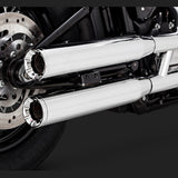 Vance & Hines Exhausts - Eliminator 300 Slip-ons - 2018 Softail