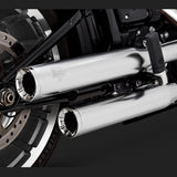 Vance & Hines Exhausts - Eliminator 300 Slip-ons - Softail 2018+