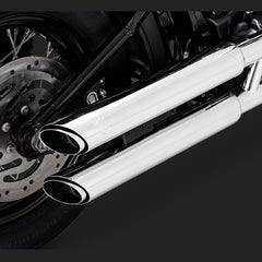 "Vance & Hines Exhausts - Twin Slash 3"" Slip-ons - Softail 2018+"