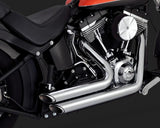 Vance & Hines Shortshots Staggered - Softail