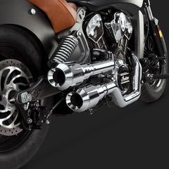 Vance & Hines Exhausts - Hi-Output 2-2 Grenades - Indian Scout