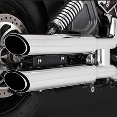 Vance & Hines Exhausts - Twin Slash Slip-ons - Indian Scout