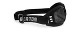 Bertoni Rubber Black/Smoke Sunglasses-AF112A