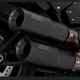Vance & Hines Exhausts - Hi-Output Slip-ons - Softail
