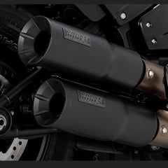 Vance & Hines Exhausts - Hi-Output Slip-ons - Softail 2018+