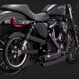 Vance & Hines Exhausts - Shortshots Staggered - Sportster 2004-13