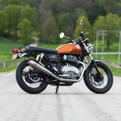 S&S Tapered Cone Mufflers - Race Only - Royal Enfield® Interceptor 650