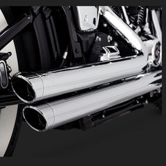 Vance & Hines Exhausts - Big Shots Staggered - Softail 2018+