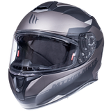 MT Targo Enjoy E2 Matte Helmet - Grey
