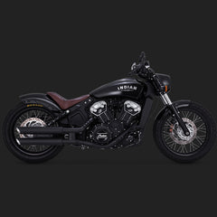 Vance & Hines Twin Slash Slip-ons - Indian Scout