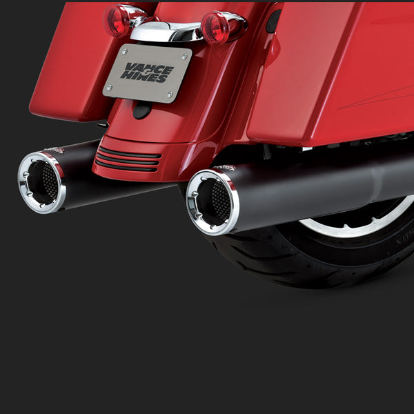 Vance & Hines Exhausts - Hi-Output Slip-ons - Touring