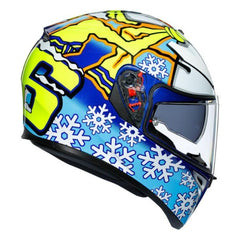 AGV K-3 SV Rossi Winter Test 2016 Helmet