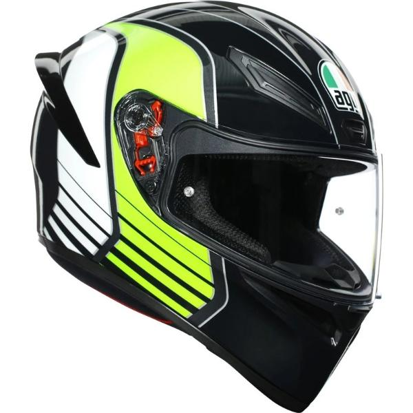 AGV K1 Power Gunmetal Helmet