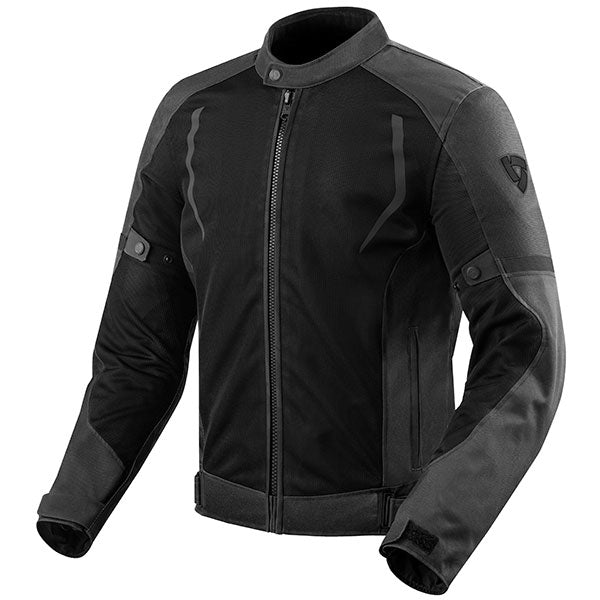 Rev'it! Torque Mesh Black Jacket