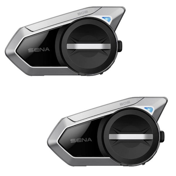 Sena 50S Dual Pack Bluetooth Headset with Mesh 2.0 Intercom