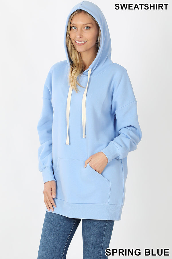 HOODIE SWEATSHIRTS WITH KANGAROO POCKETS - Zenana Outfitters Women's Clothing