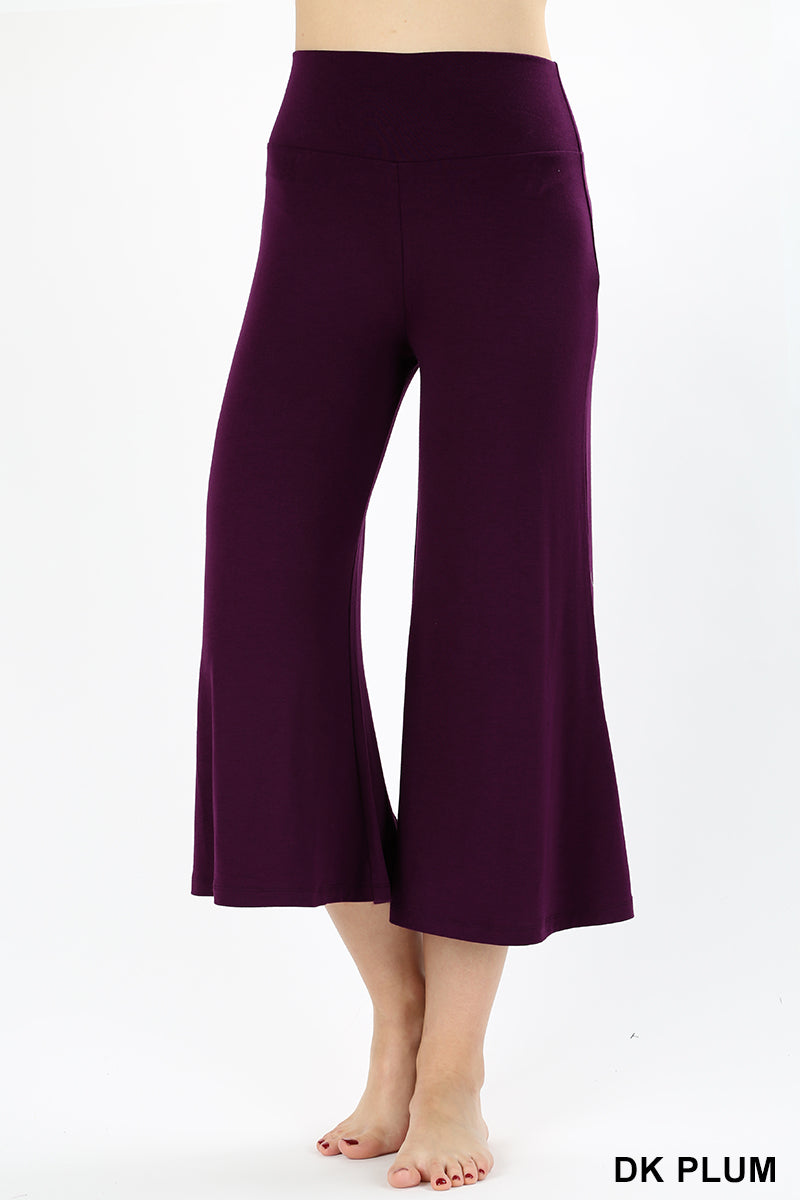 GAUCHO CAPRI PANTS - Zenana Outfitters Women's Clothing