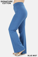 PLUS FOLD-OVER YOGA PANTS