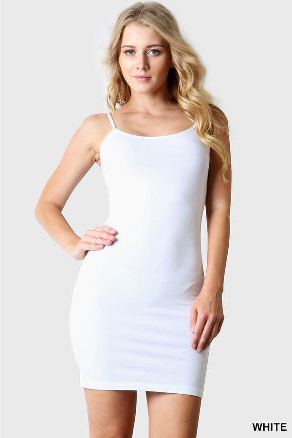 LONGLINE BODYCON CAMI - Zenana Outfitters Women's Clothing