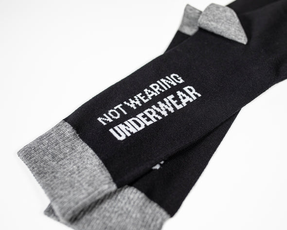 Not Wearing Any Underwear Socks