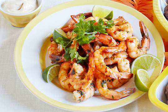 Garlic Chilli Prawns