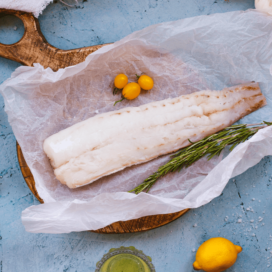 Caught Online 1kg Skin-On Hake Pack (+-150g per fillet)