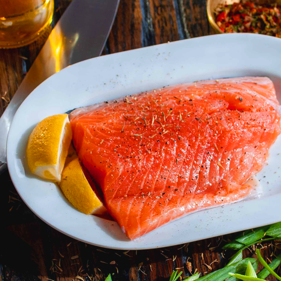 Caught Online Fresh Trout Portions (180g per portion)