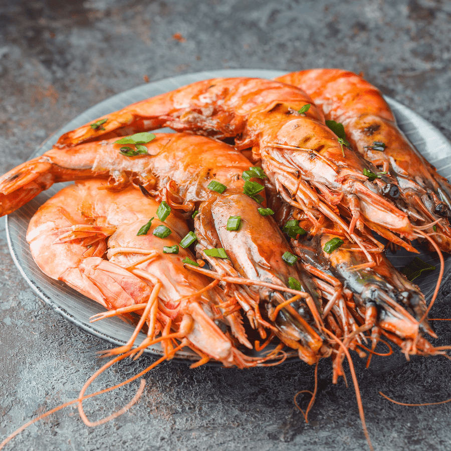 Caught Online Large Wild Caught Argentinian Prawns 750g Bag
