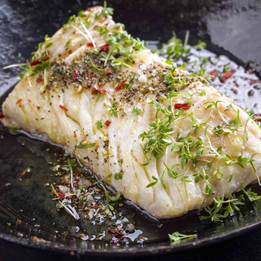 Not specified General 4 Skin-on Hake Portions (150/200g per portion)