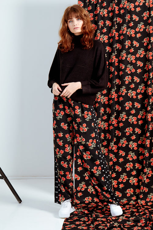 Marina Mix And Match Wide Leg Trousers