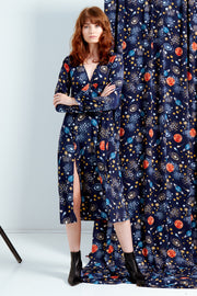 Stella Constellation Print Tea Dress