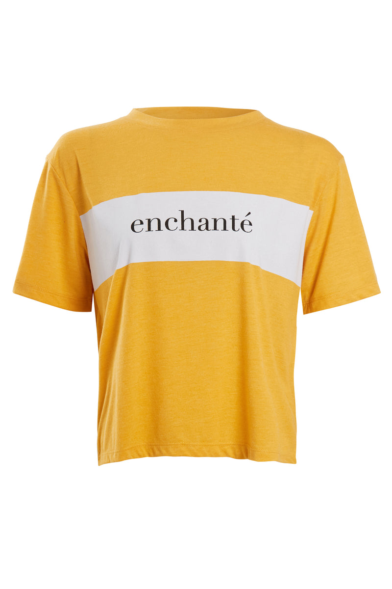 Enchanté T-Shirt - Yellow