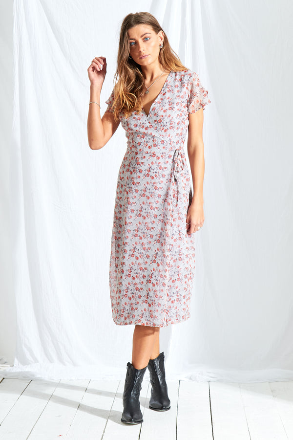 Rosie Ditsy Midi Dress
