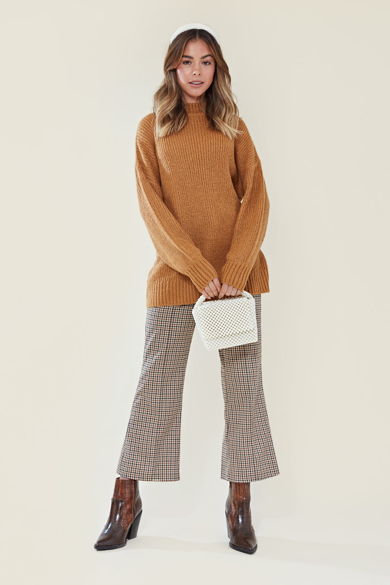 Ultimate Relaxed Jumper <br/> Brown