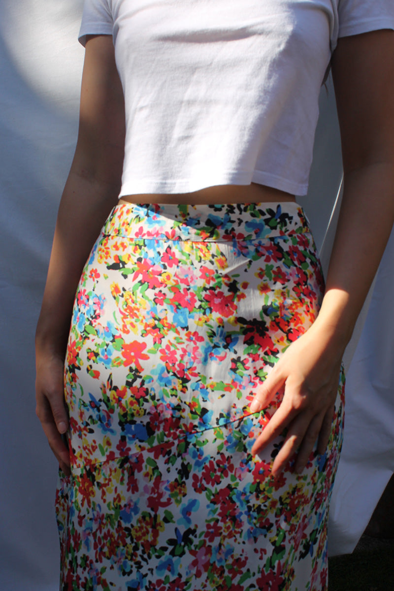 Suzie Ditsy Floral Maxi Skirt<br/> Multi