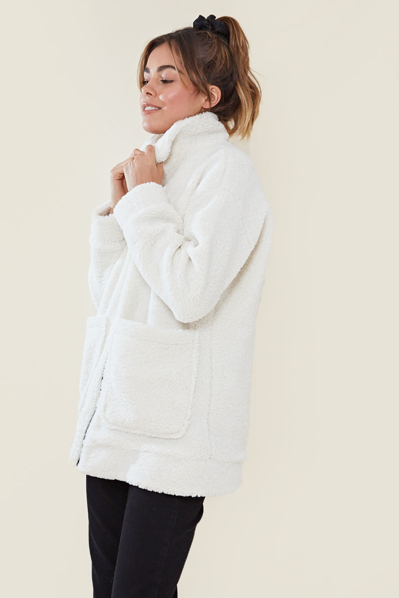 Teddy Coat <br/> Cream