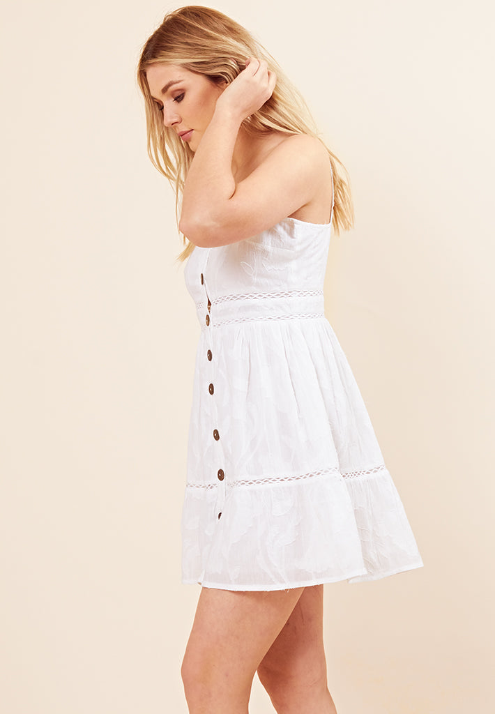 Cami Summer Dress <br> White