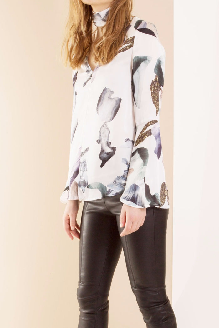 Abstract Marble Quartz Blouse