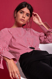 Margot Stripe O Ring Shirt