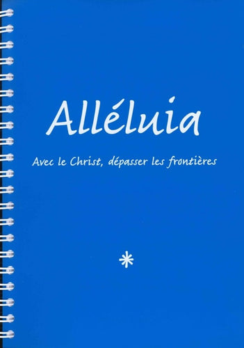 Alléluia. Grand format 3 volumes