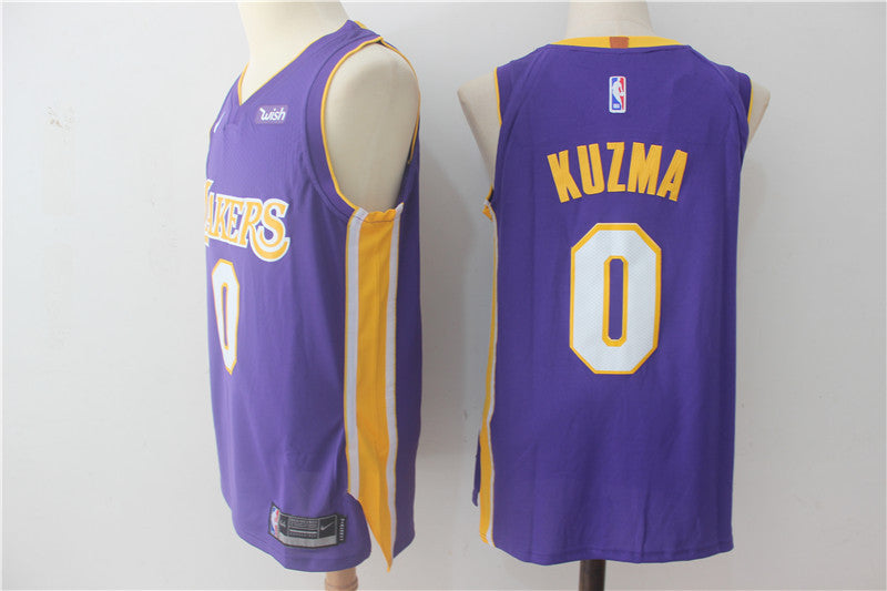 9d05f197 ... where to buy mens lakers 0 kyle kuzma purple basketball jersey 90a11  06033