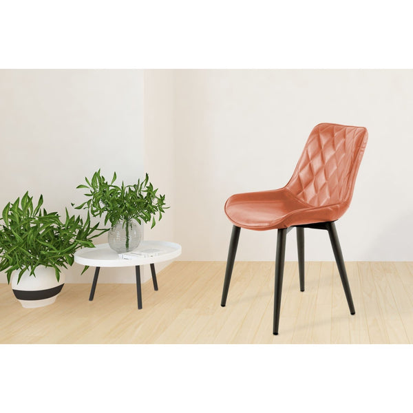 Chaise de salle à manger - Cecil 110  Lot de 2 Cafe