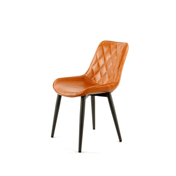 Chaise de Salle à Manger - Cecil 110  Lot de 2 Orange
